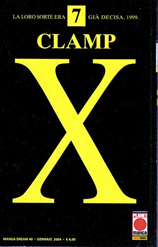 manga X CLAMP Nr. 7 Ed. Panini Planet