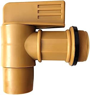 "Lumax LX-1726 3/4 Barrel Faucet with 2"" Male Drum Adaptor"