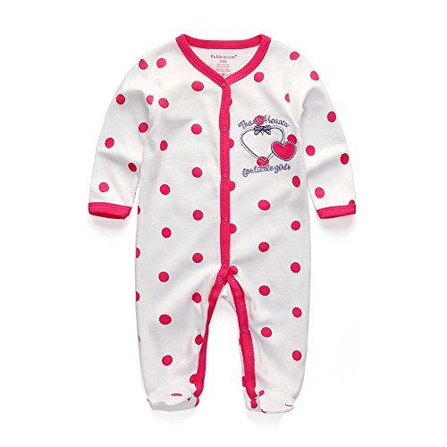 Kiddiezoom mignon nouveau-né Barboteuse bébé fille/garçon Thank Heaven Vêtements Babaysuit Infant Vêtements pour Singe Porter
