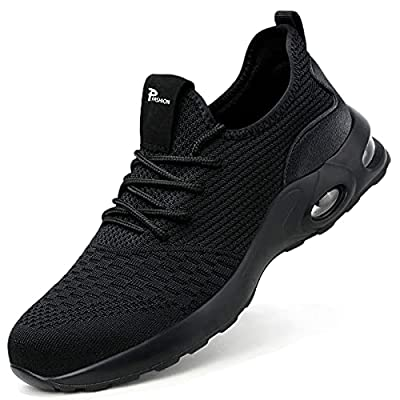 Amazon - 40% Off on Steel Toe Shoes for Men Women Lightweight Safety Work Sneaker for Men Slip Resistant