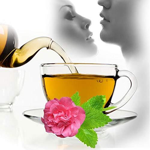 Erotischer Tee - Orange, Rose, Minze, für das wunderbare Aroma von Mund und Atem