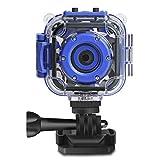 PROGRACE Children Kids Camera Waterproof Digital Video HD Action Camera 1080P...