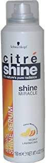 Citre Shine Shine Miracle Aerosol Shine By Schwarzkopf for Unisex, 4 Ounce