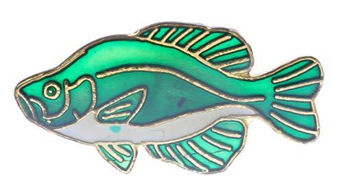 Sujak Military Items Crappie Pan Lake Fish Hat Lapel Pin PPM1663