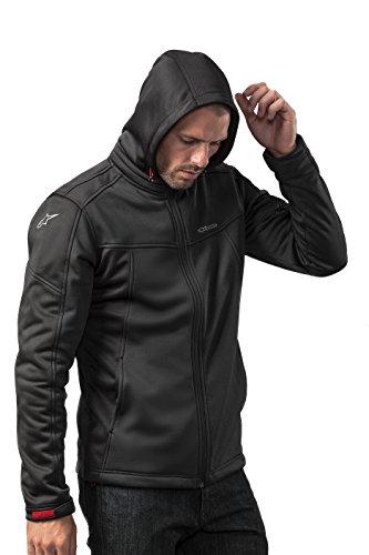 Alpinestar Stratified Jacket capucha extraíble de microfile extensible Hombre