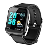 Fitness Tracker Heart Rate Monitor Blood Pressure Smart Watches for Android iOS Pedometer