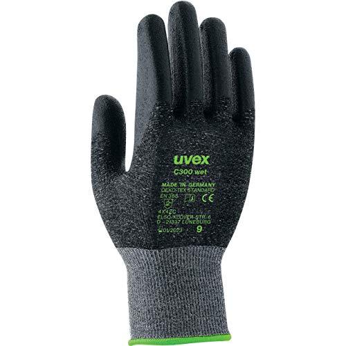 Uvex C300 Wet Schnittschutzhandschuhe - 1 Paar Schnittfeste Arbeitshandschuhe 07/S