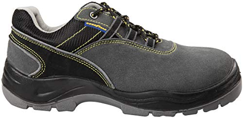 Zapatos de seguridad calzado S1P cruz y tela, talla 46