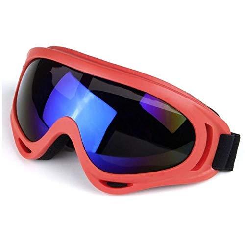 AWLQ Skibril, winter, snowboard, skibril voor mannen en vrouwen, Uv400, winddichte zonnebril, sportbril, skiën en sneeuwscooter, anti-condenslens