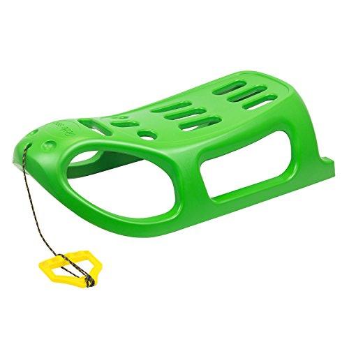 Prosper Plast Vert Luge Plastique Little Seal Un glissières en métal et Corde