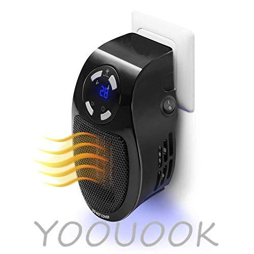 Calentadores eléctricos,De Ventilador Termostato Silencioso,De Ventilador Termostato Silencioso Portátil Pequeño Portátil,Adecuado para...
