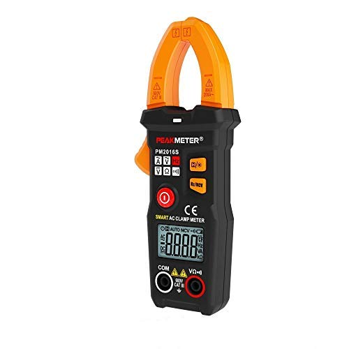 TuToy Peakmeter Pm2016S 6000 Counts True Rms Multimeter Ncv Test V/-Auto Scan Clamp Meter