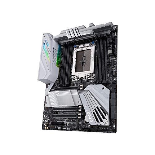 ASUS Prime TRX40-PRO Scheda Madre AMD TRX40 ATX per Threadripper 3 Gen, 16 Fasi di Alimentazione, DDR4 4666+ MHz, 3x PCIe 4.0 M.2s, USB 3.2 Gen 2 Type-C per Pannello frontale e Aura Sync RGB