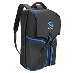 GAMING BACKPACK FOR CONSOLES & LAPTOPS: Features a dedicated storage compartment for consoles, laptops, keyboards, and virtual reality systems of all sizes with a padded divider for organization ARSENAL STYLE ACCESSORY CACHE: Front opening storage wi...