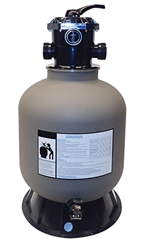 Swimline Pool Sand Filter with Valve/Base, 19""