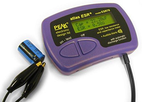 Peak Electronic Design ESR70 Atlas Plus y medidor de capacitancia (Varios)