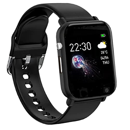 Infinizy ( SPECIAL 8 YEARS WARRANTY ) Bluetooth Smartwatch,Touchscreen Wrist Smart Phone Watch Sports Fitness Tracker with SIM SD Card Slot Camera Pedometer Compatible with Android Smartphone for Kids Men Women