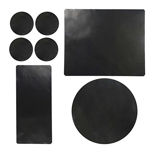 Charcoal Companion CC4138 Reusable Barbecue Flex Sheets and Mats, Mixed Combo Pack for Grilled Seafood, Burgers, Pizza & More