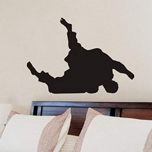 Wall Stickers Kung Fu Judo Wandaufkleber Poster Sport Wanddekor Judo Wandtattoo Schlafzimmer Dekorationcm 72X102Cm