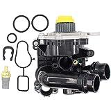 NewYall Water Pump & Temp Temperature Sensor & Gaskets