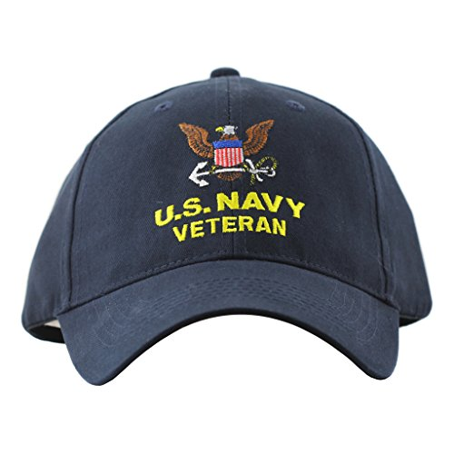 Eagle Crest United StatesNavy Veteran Hat Men Women, Military Gifts, Military Collectibles,Blue,One  - http://coolthings.us