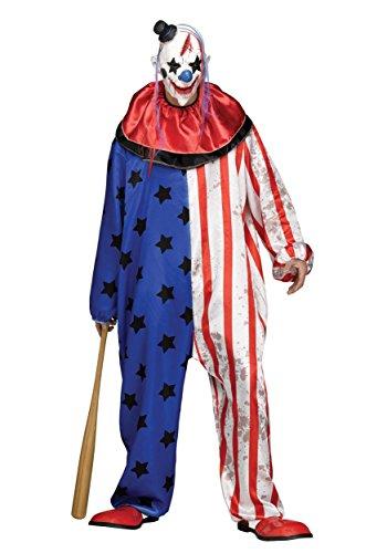 Evil Clown Men's Costume Standard