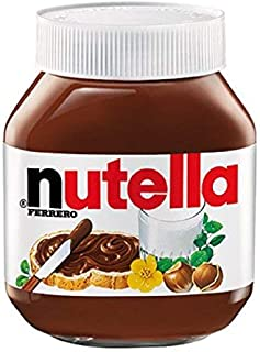 Nutella Ferrero Chocolate Spread Jar, 750 g