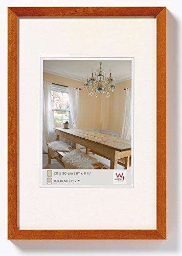 walther design BP318P Peppers Bilderrahmen, Holz, 13 x 18 cm, buche