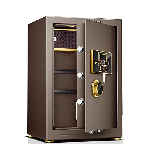 TYJKL Caja Fuerte Caja de Seguridad de Seguridad Digital Caja de Seguridad de Acero sólido, depósito electrónico de depósito de la Pared. almacenar Documentos Importantes