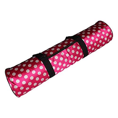 SIMEISM Unisex impermeable deporte fitness paquete hombro bolsa de almacenamiento yoga pilates Mat Carrier