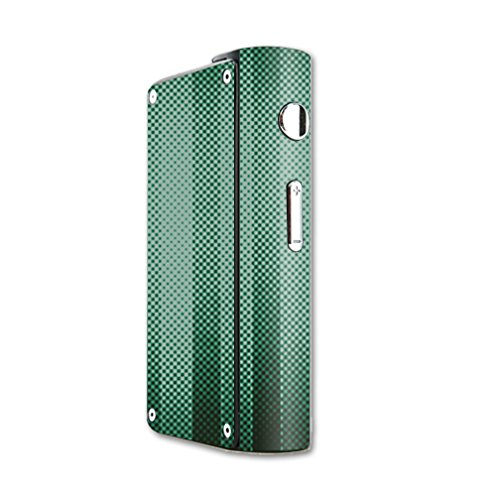 MightySkins Skin Compatible with Laisimo S3 200W TC mod Skins Sticker Vape Green Lines