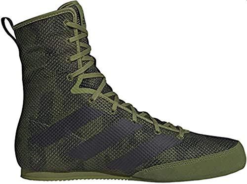 adidas Hombre Box Hog 3 Zapatos de Boxeo Verde, 38