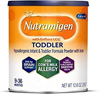 Nutramigen with enflora LGG 适用于牛奶* powder CAN 幼儿 12.6 oz Pack of 1 12.6