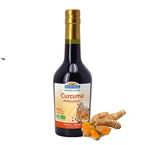 Biofloral - Elixir d'Orient - Curcuma Bio - Extra Fort - 375 ml