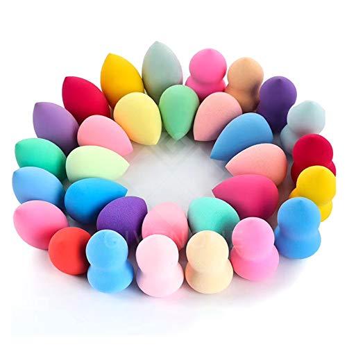 Tide brand tribe Beauty Blender Sponge for Makeup Accessories Eggs Water Drop Proffesional Cosmetics Makeup for Face Sponge Puff XISHOW 1/5/7pcs (Color : 1pc random)