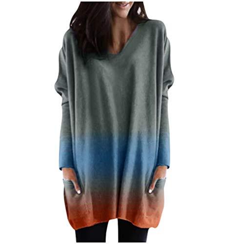 DOLDOA Winterkleidung Damen Mode Kapuzenpullover Rosa Hoodie Hoher Kragen Langarm Pullover Sweatshirt Mit Kapuze - Herbst Winter