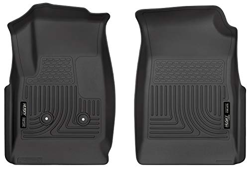 Husky Liners Fits 2015-20 Chevrolet Colorado, 2015-20 GMC Canyon Weatherbeater Front Floor Mats