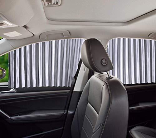 Automobile Sunshade, Telescopic Universal Car-Mounted Magnetic Sunshade, Sunscreen Thermal Insulation Sunshade Curtain