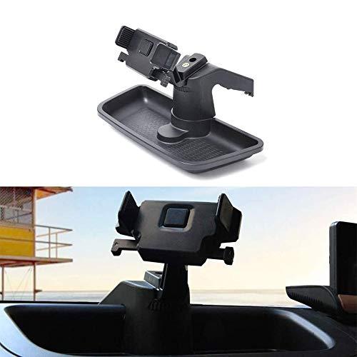 CKPEOR Supporto per Telefono Cellulare Dashboard Multistrato con Tray di Gestione del Dashboard per 2011-2018 Jeep Wrangler JK JKU