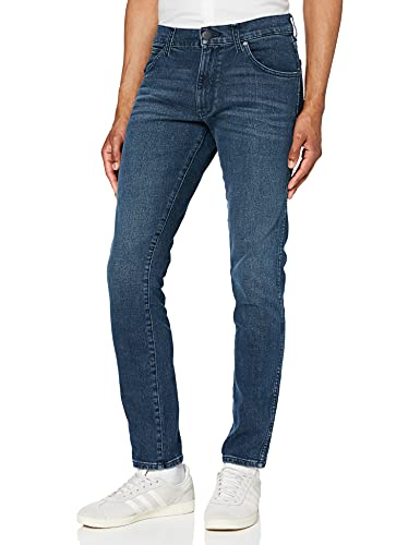 Wrangler Larston, Jeans, Uomo, Blu (Jet Blue 32b), W27/L32