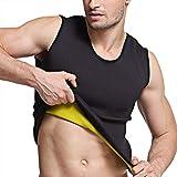 Martiount T-Shirt pour Homme pour Perte de Poids Agit comme Un Sauna pour la Musculation, Le Cardio, l'endurance Noir XXL