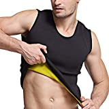 Martiount Chaleco Moldeador de Peso para Pérdida de Peso para Hombre, Formación de Músculos, Resistencia Cardiovascular y Fortaleza Medular XL