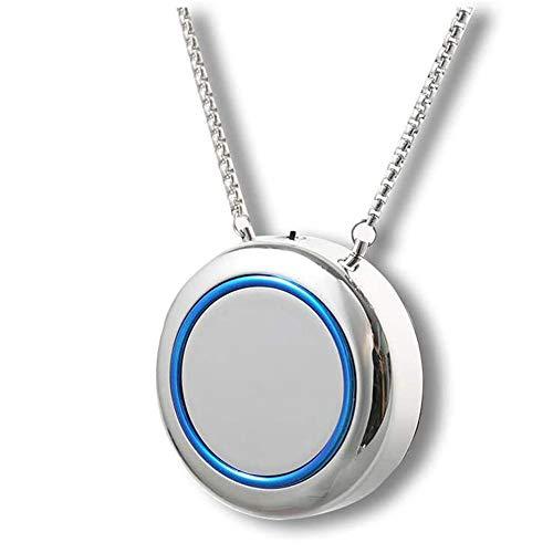 SHHYD Portátil Ion Negativo Purificador De Aire, Collar Usable Personal Filtro De Aire Ionizador para Adultos Niños
