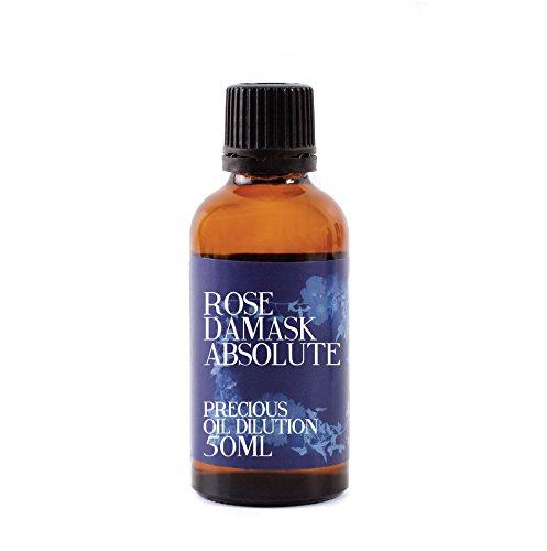 Rosa Damasco Absoluto Aceite Disolución - 50ml - 3% Jojoba Mezcla