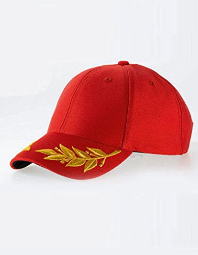 Atlantis Winner Winners Laurel Embroidered Cap - Red - OS