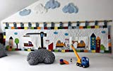 Wandbehang für das Kinderbett Gross (Baustelle)