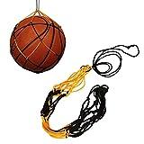 Chenhan Malla de Baloncesto 1 unids Portátil Nylon Red Balsa de Baloncesto Deporte al Aire Libre Carrera Malla Balón de fútbol Bolsa de Embalaje Portador Bolsa de Malla de Baloncesto Redes Gruesas