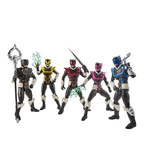Power Rangers 0 Lightning Collection 15 cm große In Space Psycho Rangers 5er-Pack Premium Action-Figuren zum Sammeln mit Accessoires