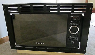 Greystone P90D23AP-X3-FR03 Black 0.9 cu. ft. Built-in Microwave with Trim Kit
