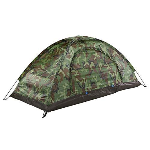 Tent HDS Ultraléger Camouflage Camping pêche sur Glace Camping for 2 Personne Seule Couche extérieure de Plage Portable (Color : Style 5 S)